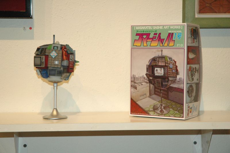 Model kit based on Sashie's artwork.