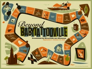 Special limited-edition Beyond Baby Tattooville print on wood from Ragnar