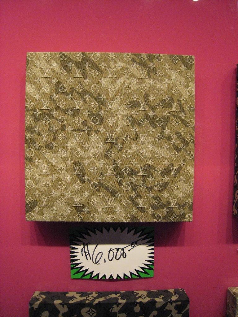 """Monogramouflage Denim 16"""" x 16"""""""
