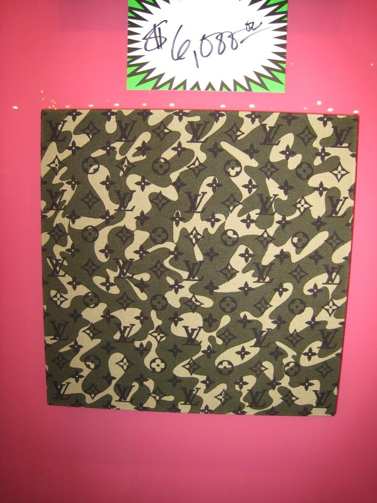 "Monogramouflage Trellis 16"" x 16"""