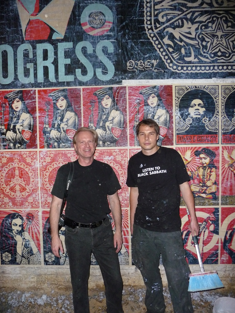 Martin Irvine and Shepard Fairey
