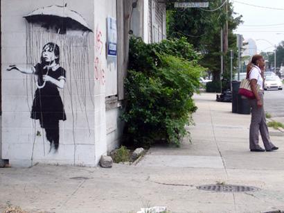 Rain Girl, New Orleans 2008