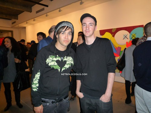 Pete Wentz (Fall Out Boy) and KAWS