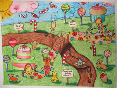 'Candy Land' - Tiffany age 13