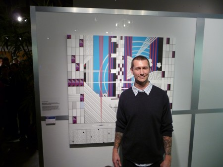 James with new work at Vanguard Fair Miami