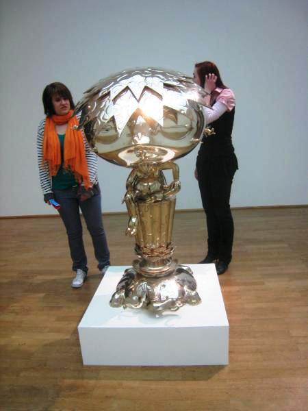Oval Budda Sculpture