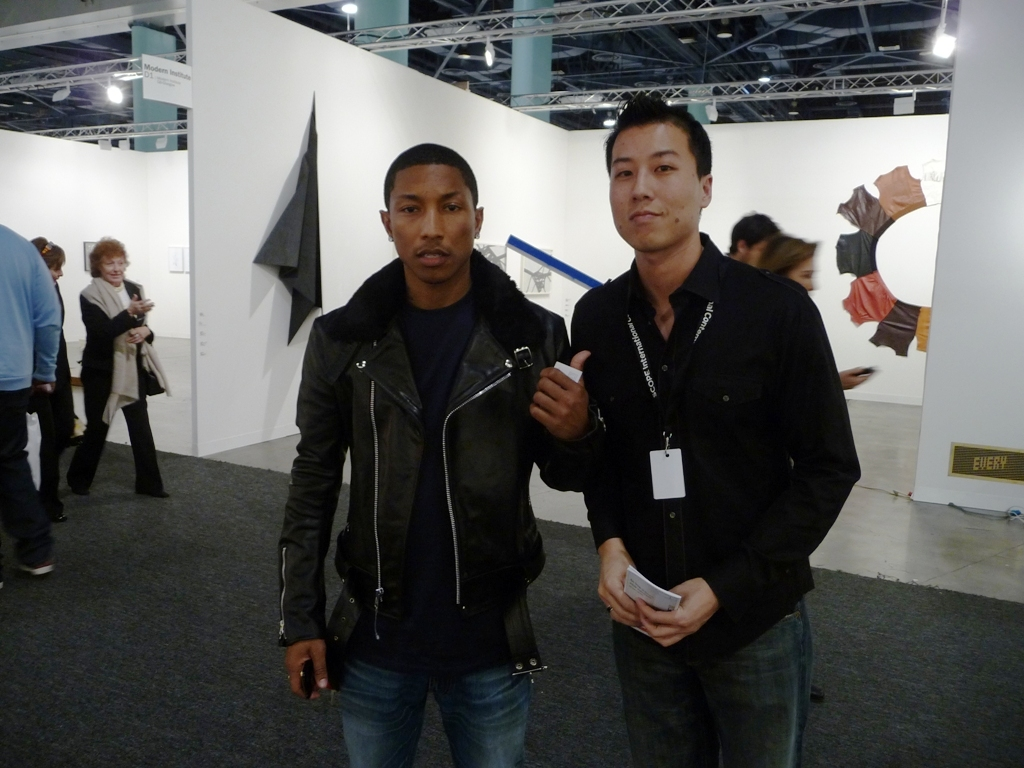 Pharrell with AM