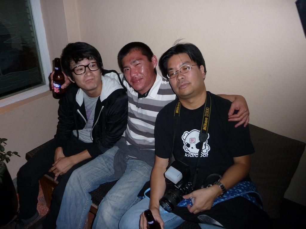 Yoskay, Edwin Ushiro & Jack