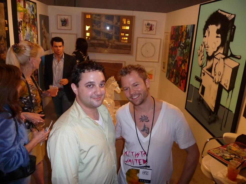 Josh Liner and Seth Carmichael