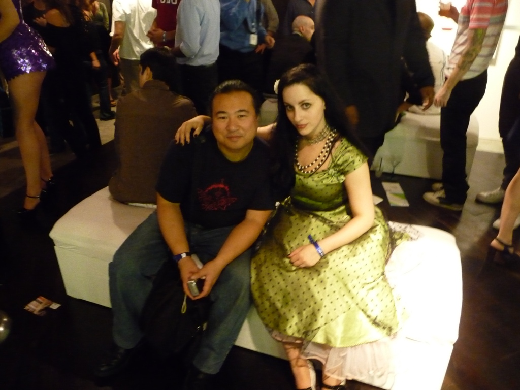 Travis Louie and Molly Crabapple