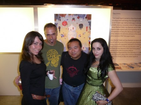 Friend, Gary Baseman, Travis Louie, Molly Crabapple