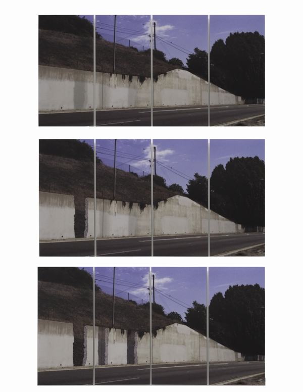 Ruben Ochoa - What if walls vanished from the freeway, would it make a sound?