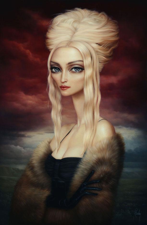 Madonna by Lori Earley