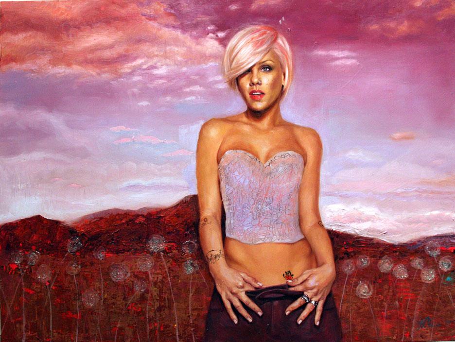Pink by Natalia Fabia