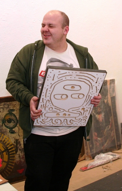 Andrew from Ad Hoc delighted by a piece from UFO