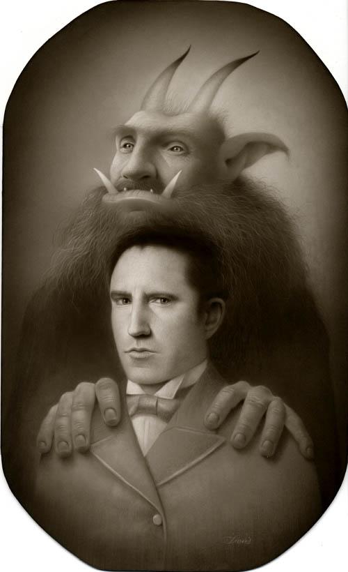 Trent Reznor (NIN) by Travis Louie