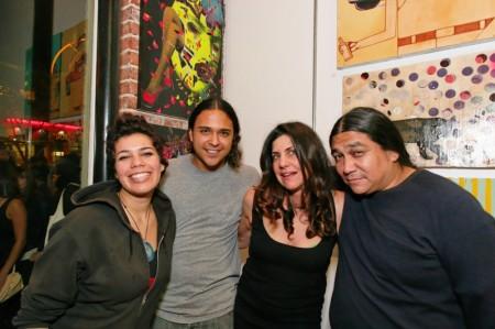 Marcella, Armando Lerma (Date Farmers), Marsea Goldberg, Carlos Ramirez (Date Farmers)