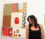 Marsea Goldberg swooning over Barry McGee