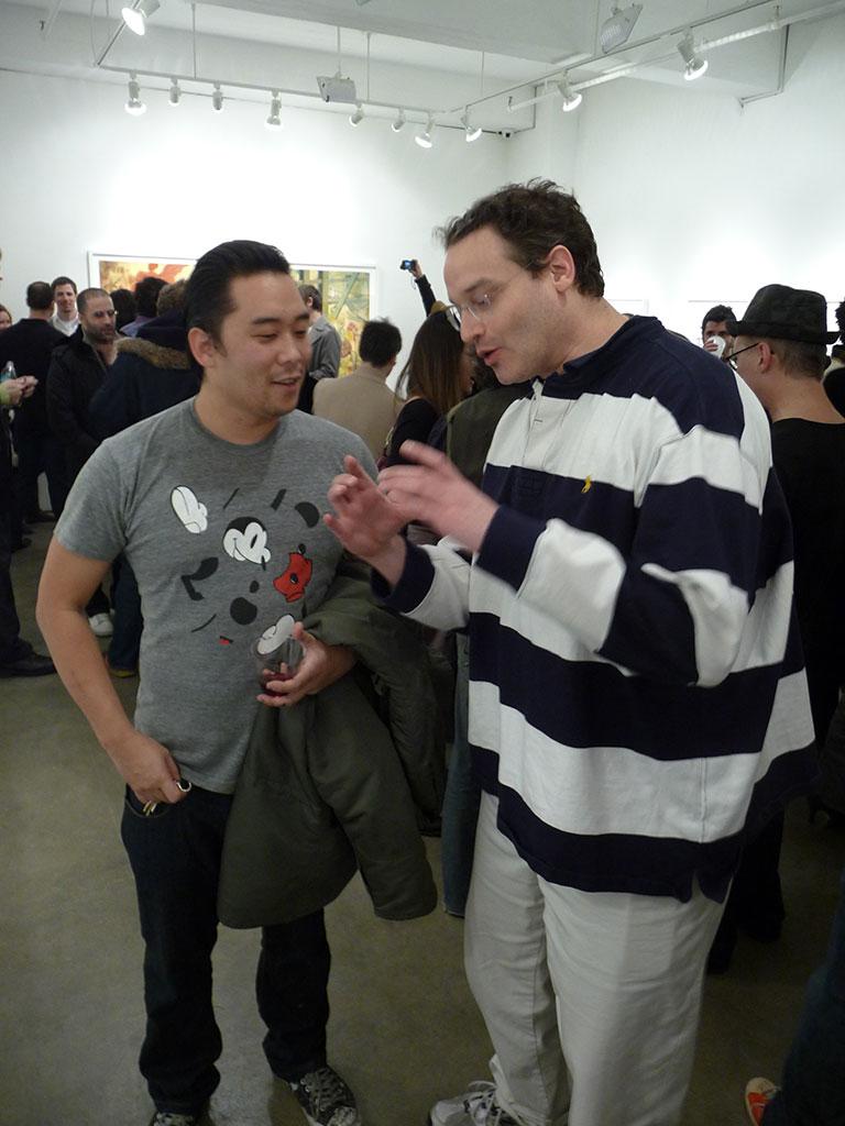 David Choe and Eric Bergman