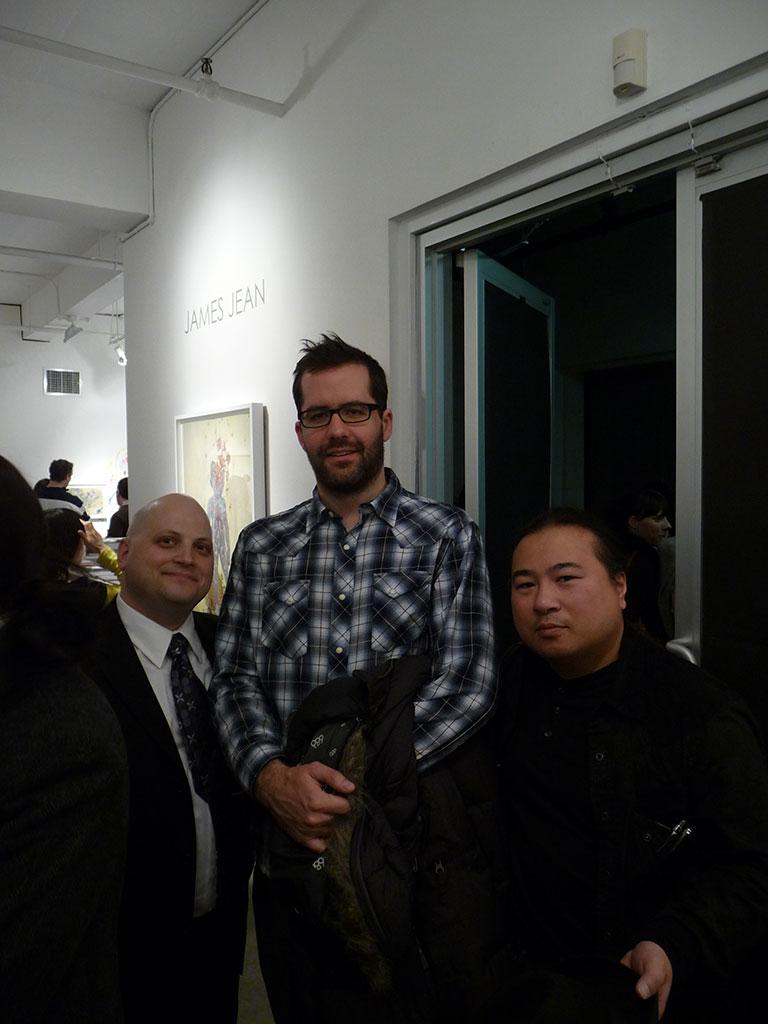 Jonathan Levine, Eric White, Travis Louie