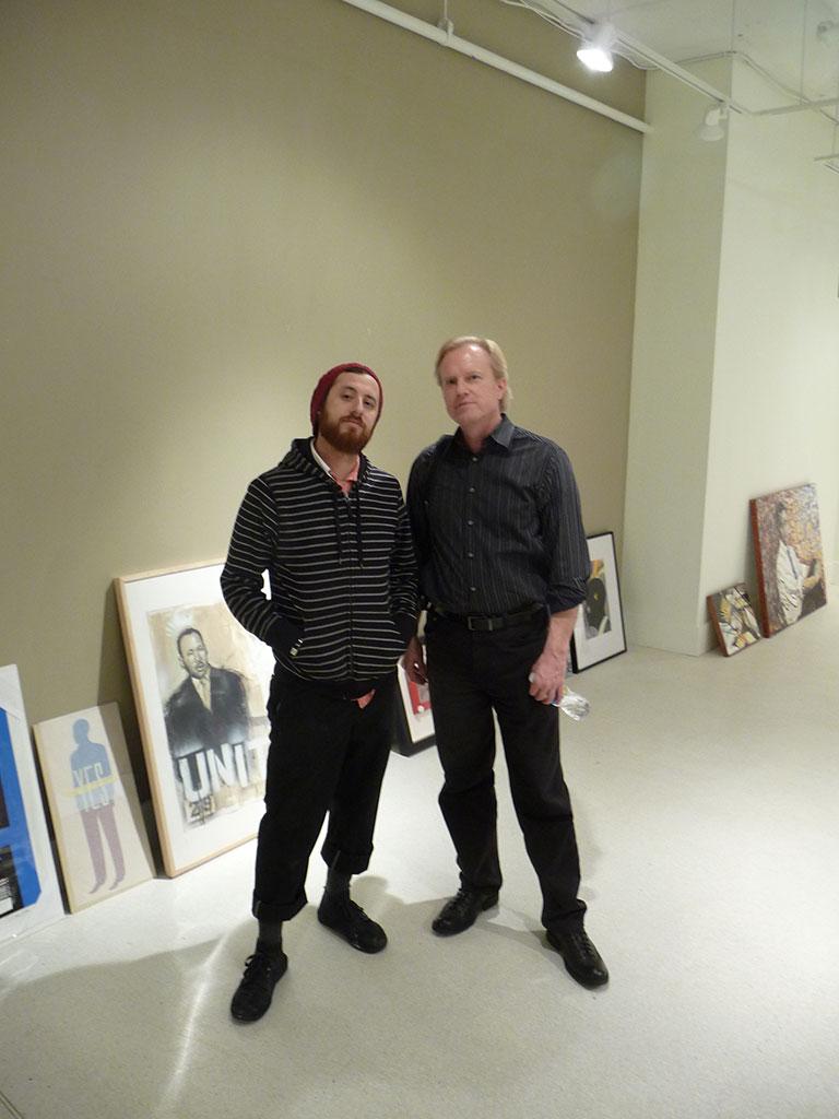 Yosi Sergant and Martin Irvine