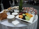 Brunch was luxuriously provided by Boeing!