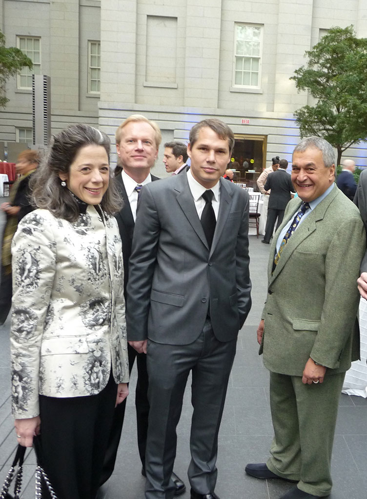 Martin Irvine, Shepard, Tony and Heather Podesta