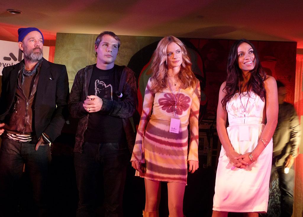 Michael Stipe, Heather Graham, Rosario Dawson Co-Hosted w/ Shepard Fairey