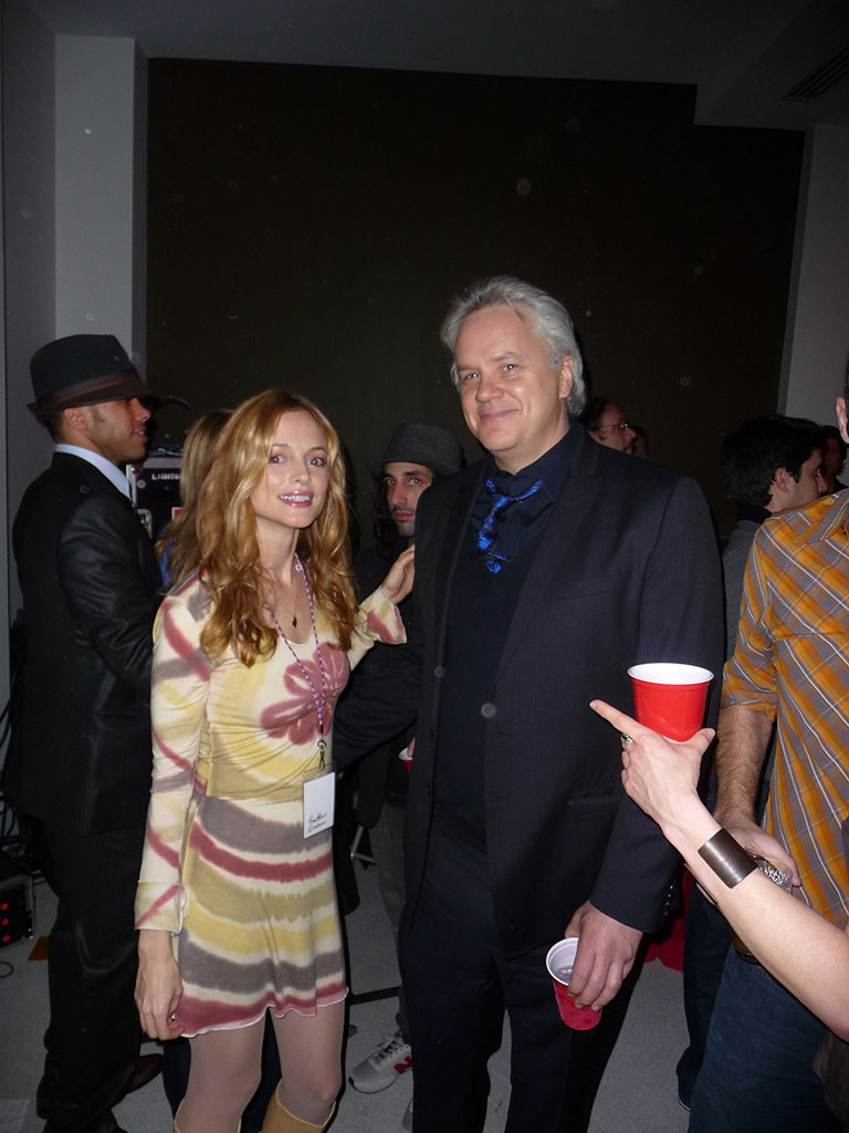 Heather Graham + Tim Robbins