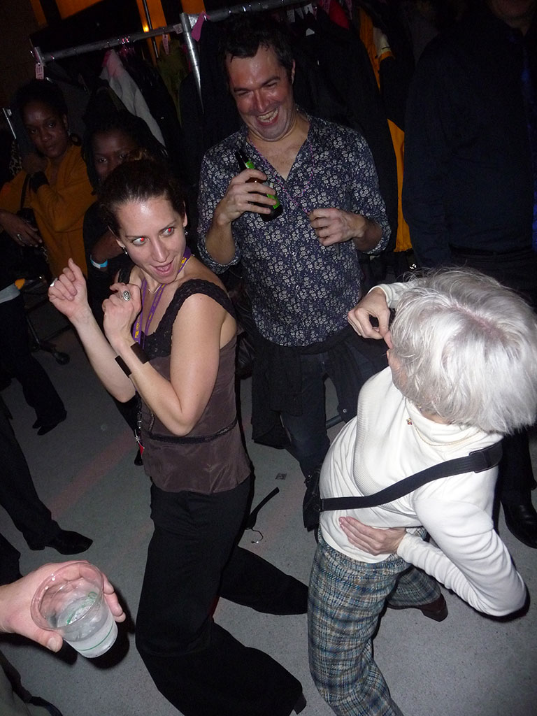 Everyone was getting down, young & old