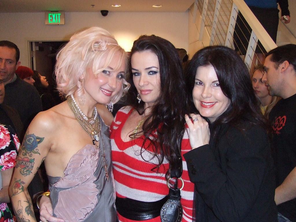 L -> R: Natalia, friend, Jan Corey