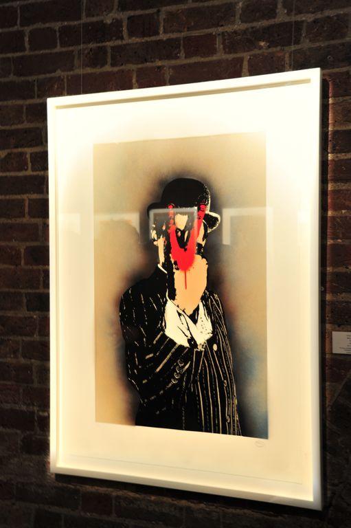 Nick Walker 'V for Vandal' print