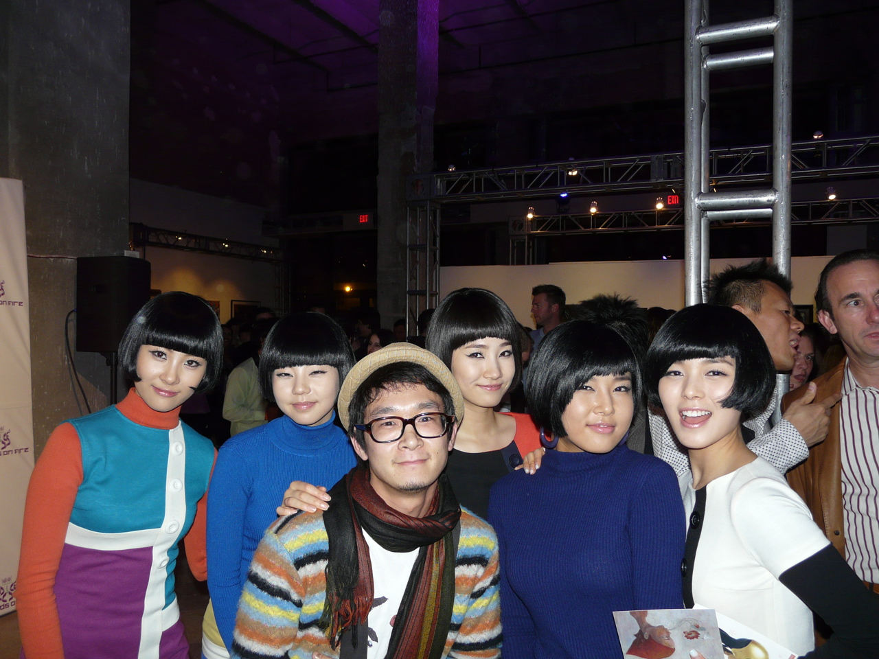 Yoskay & Korean super girl group Wondergirls (invited by Will.i.am)