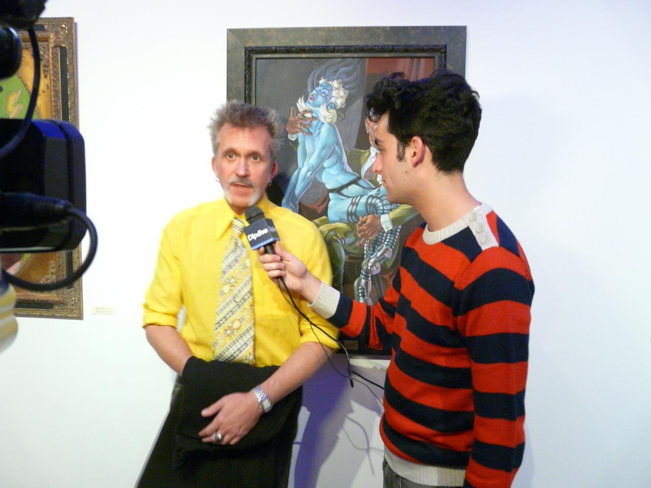 Van Arno interviewed.