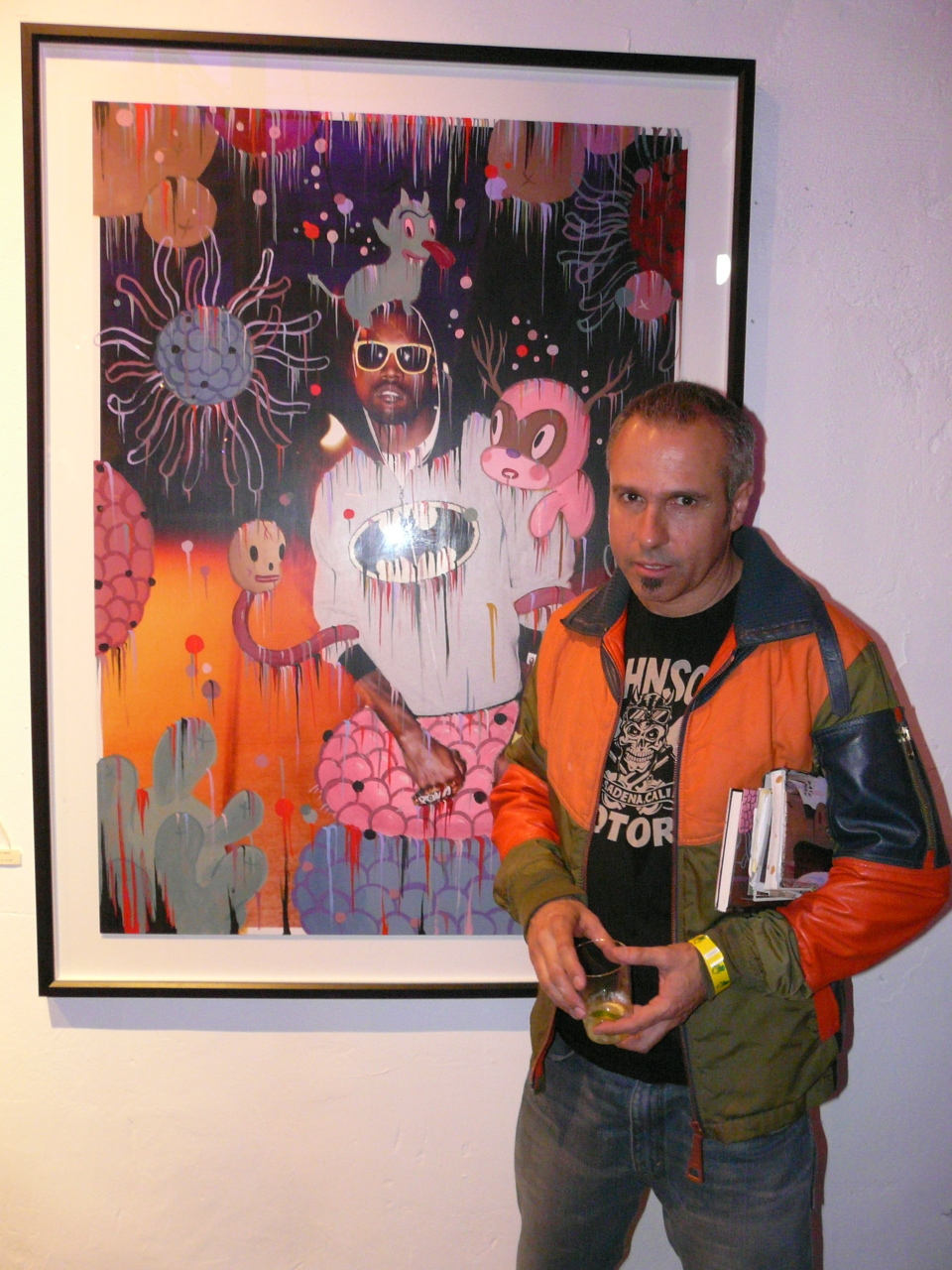 Gary Baseman and his Kayne West collaboration with Nabil Elderkin.
