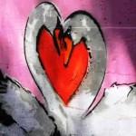 Above - Swan Love