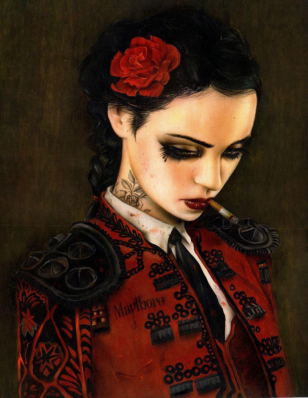 bullfight-her-lo-16x20