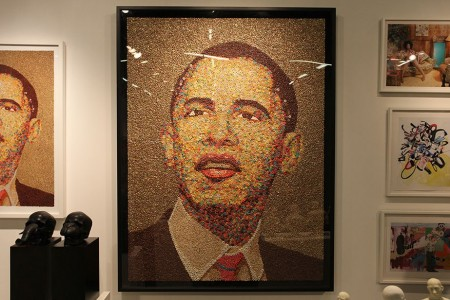 I wonder if Obama would look like this on a box of Wheaties?