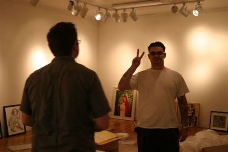 Justin of Shooting Gallery