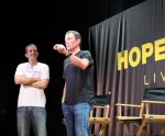 Doug Ulman and Lance Armstrong