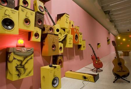 Interactive sound installation