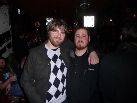 David B Smith boys: Travis + Dave
