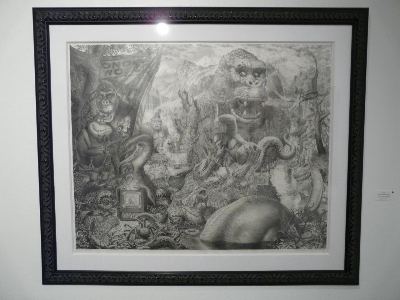 """""""Ape Worship"""" drawing"""