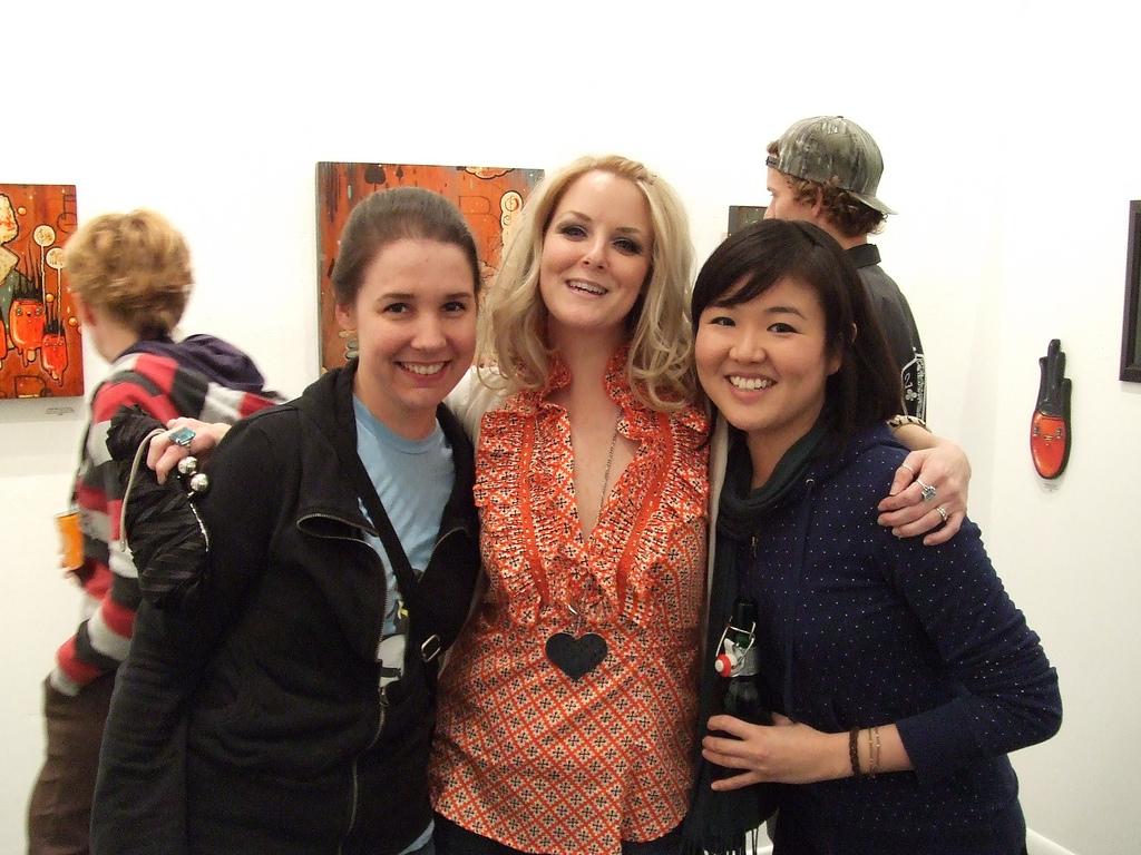 L -> R: Leah, Brandi, Audrey