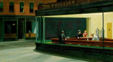 Night Hawks by Edward Hopper (1942)