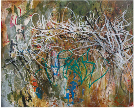 The Legacy of Sar-One (48 x 60 in)