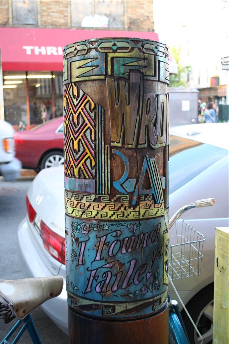 Streets: Faile – Second Spinning Prayer Wheel Installation