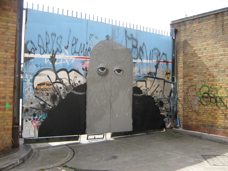 You can see a part of a Conor Harrington (previously tagged over) piece behind this one...