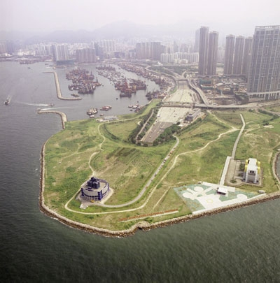 Original site of cultural district. Photo via Greenenergy.