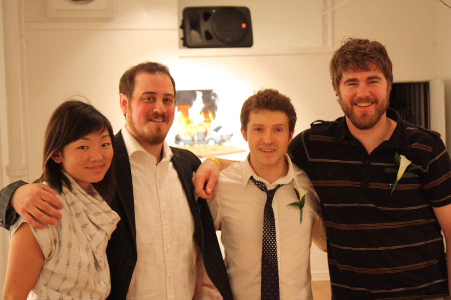 DBS Gallery crew